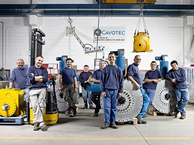 cavotec, specimas, corporate, project