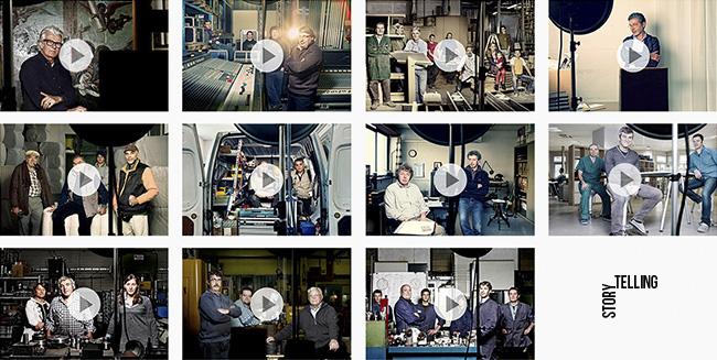 Video storytelling corporate artigiani