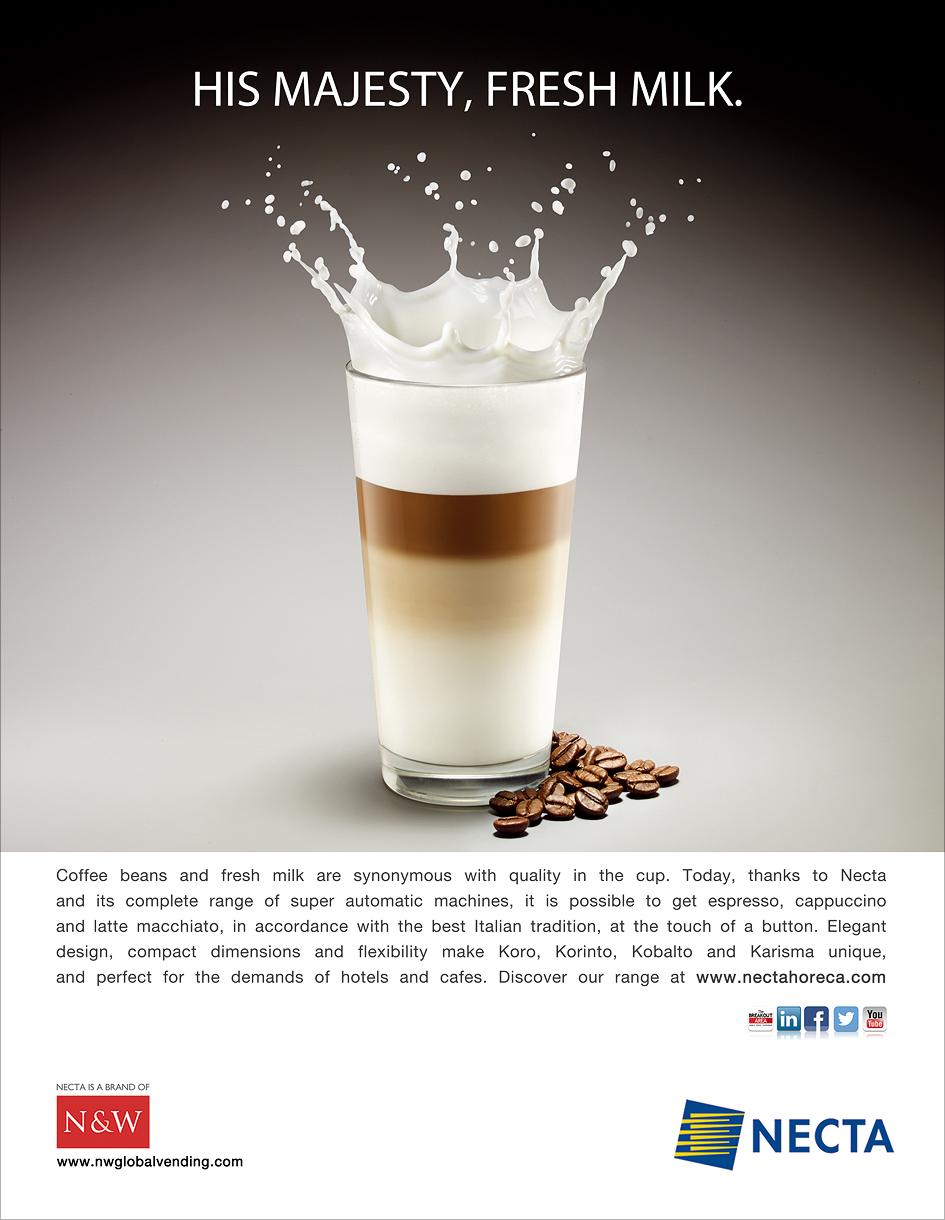 milk latte fresco N&W majesty Re King