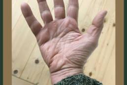un saluto con la mia mano